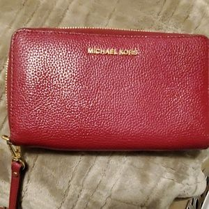 Michael Kors wallet and matching purse